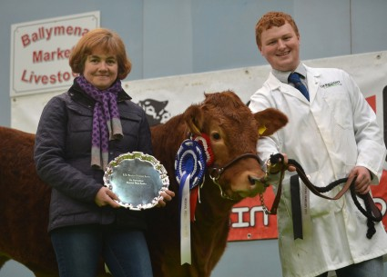 Intermediate Champion Young Handler Ethan Green