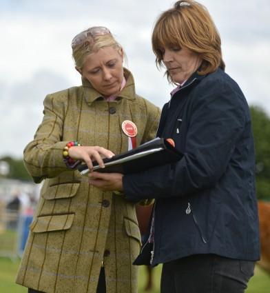 Stock handling Judges Sharon Rothwell & Agnes Lyndsey