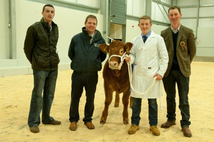 Intermediate and Reserve Overall Young Handler James Graham