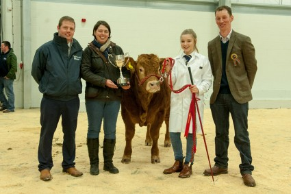 Junior and Overall Champion Young Handler Ruth Hamill