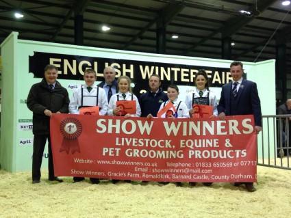 Team Ireland Winners of the 2015 Anglo Irish YLBC Stockjudging